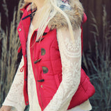 Cle Elum Vest in Red: Alternate View #1