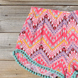 Cloud Break Native Shorts in Pink: Alternate View #2
