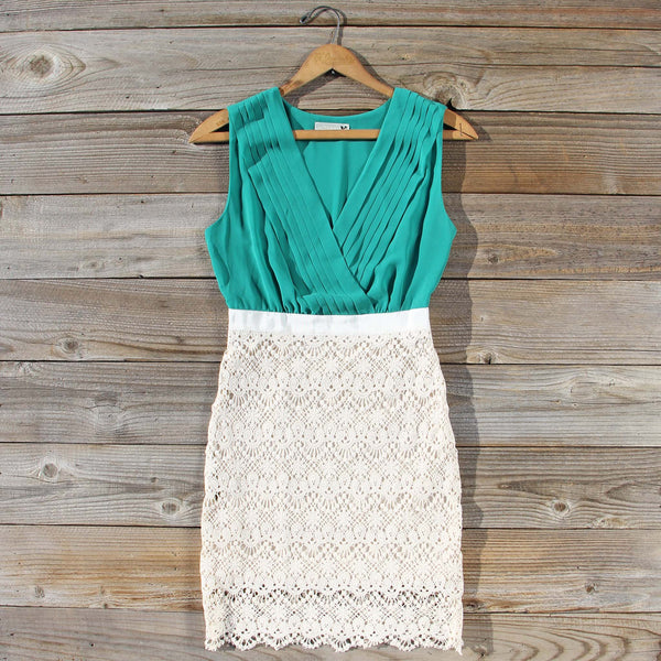 Clover Sky Lace Dress: Featured Product Image