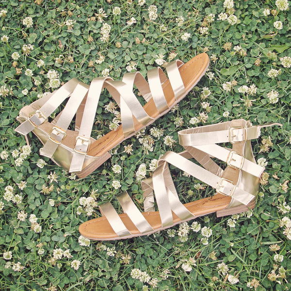 Clover Meadow Sandals: Featured Product Image