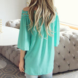 The Cold Shoulder Blouse: Alternate View #3