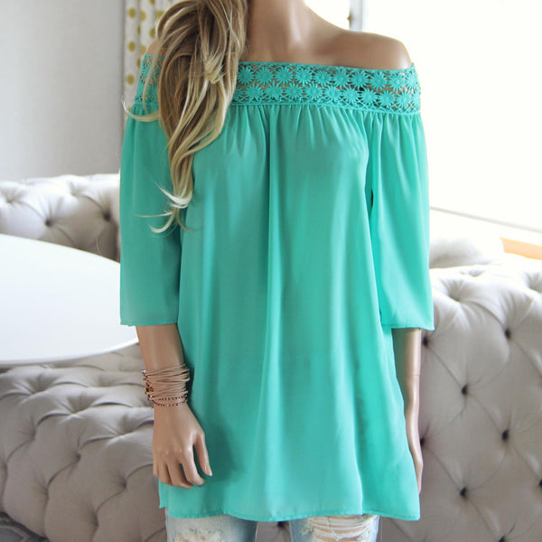 The Cold Shoulder Blouse: Featured Product Image