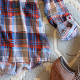 Cold Shoulder Plaid Top: Alternate View #3