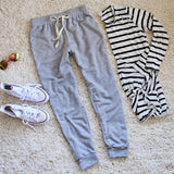 Cool Girl Joggers in Gray: Alternate View #2