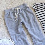 Cool Girl Joggers in Gray: Alternate View #3