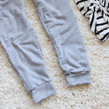 Cool Girl Joggers in Gray: Alternate View #4