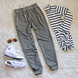 Cool Girl Joggers in Sage: Alternate View #5