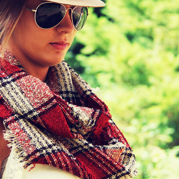 Copper Creek Plaid Scarf: Featured Product Image