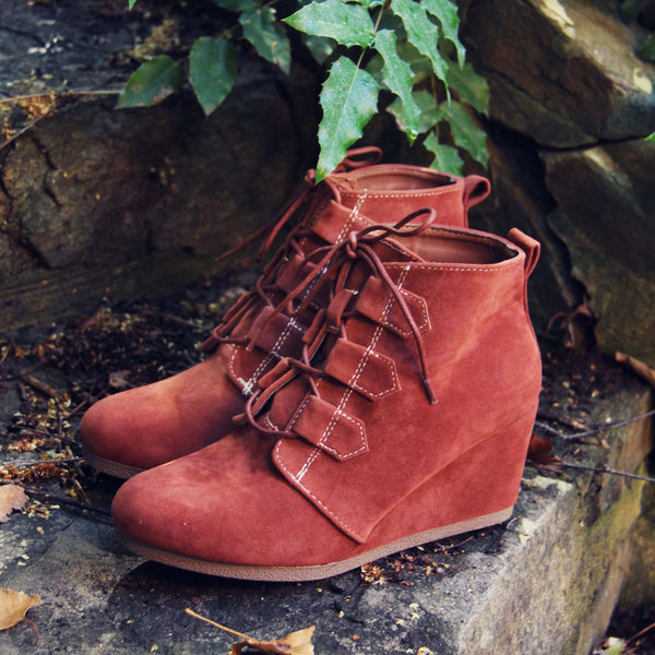 Copper Wolf Booties: Featured Product Image