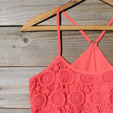 Coral Sunset Dress: Alternate View #2