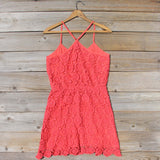 Coral Sunset Dress: Alternate View #4