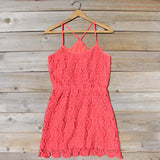 Coral Sunset Dress: Alternate View #1
