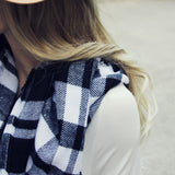 Cozy Buffalo Plaid Scarf: Alternate View #3