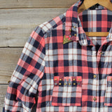 Cozy Cabin Plaid Blouse: Alternate View #2