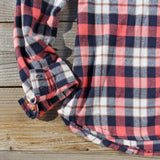 Cozy Cabin Plaid Blouse: Alternate View #3