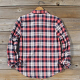 Cozy Cabin Plaid Blouse: Alternate View #4