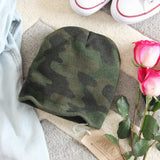 The Cozy Camo Beanie: Alternate View #2