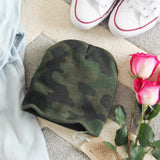 The Cozy Camo Beanie: Alternate View #1