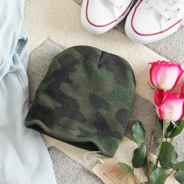 The Cozy Camo Beanie: Featured Product Image