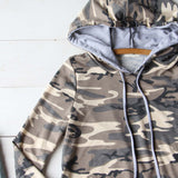 Cozy Camo Hoodie: Alternate View #3