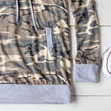 Cozy Camo Hoodie: Alternate View #4