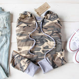 Cozy Camo Hoodie: Alternate View #2