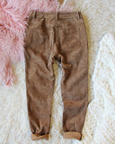 Corduroy Cozy Lace-Up Pants: Alternate View #3