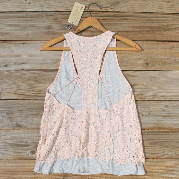 The Cozy Lace Tank: Featured Product Image