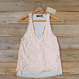 The Cozy Lace Tank: Alternate View #2