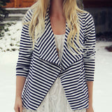 Cozy Saturday Stripe Jacket: Alternate View #1