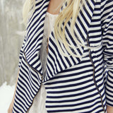 Cozy Saturday Stripe Jacket: Alternate View #2