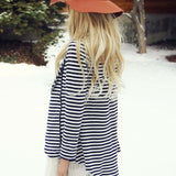 Cozy Saturday Stripe Jacket: Alternate View #4