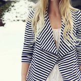 Cozy Saturday Stripe Jacket: Alternate View #3