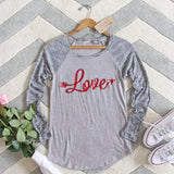 Cozy Love Tee: Alternate View #2