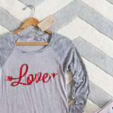 Cozy Love Tee: Alternate View #3