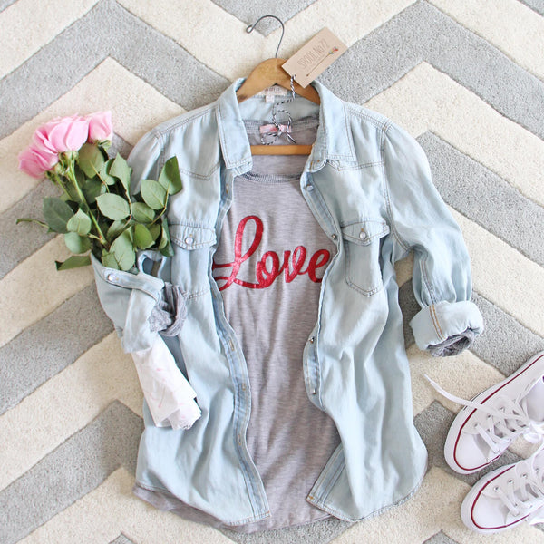 Cozy Love Tee: Featured Product Image