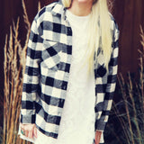 The Cozy Oversized Flannel: Alternate View #1
