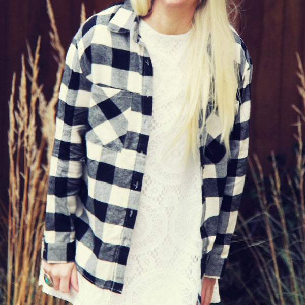 The Cozy Oversized Flannel: Featured Product Image