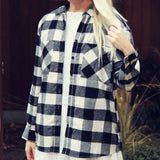 The Cozy Oversized Flannel: Alternate View #2