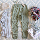 Cozy Sage Joggers: Alternate View #4