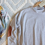 Cozy Sweatshirt Dress in Gray: Alternate View #2