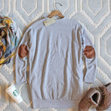 Cozy Sweatshirt Dress in Gray: Alternate View #4