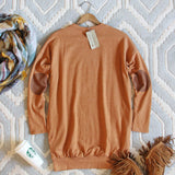 Cozy Sweatshirt Dress in Pumpkin: Alternate View #4