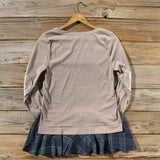 Cozy Tartan Sweatshirt: Alternate View #4