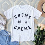 Crème de la Crème Tee: Alternate View #2