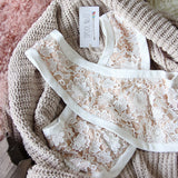 Cross Your Heart Lace Bralette: Alternate View #2