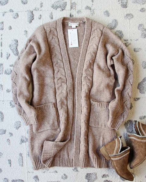 Cuddling Cozy Cardigan: Featured Product Image