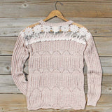 Cumulus Lace Sweater: Alternate View #4