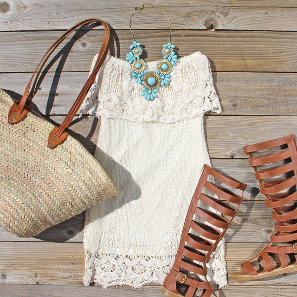 Coyote Lace Dress: Featured Product Image