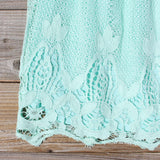 Coyote Lace Dress in Mint: Alternate View #3